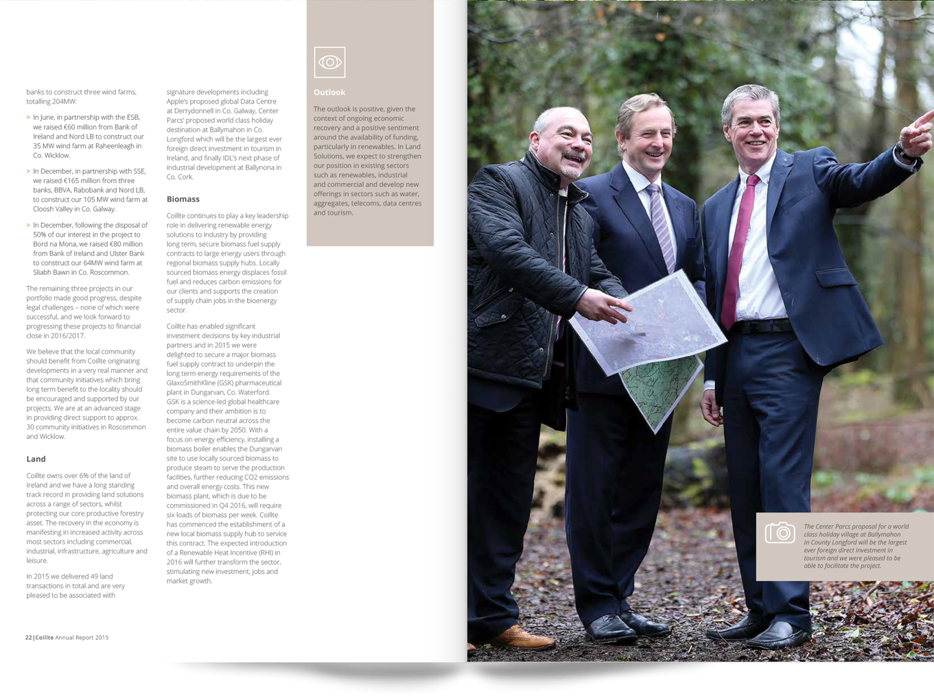 e_coillte_annual_report_spread_enda_kenny_review